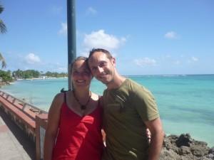 Notre voyage en Guadeloupe, la mer bleue nous fait encore rêver :)